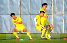 U23 Việt Nam chỉ có một buổi tập trước khi đấu với Triều Tiên