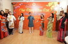 Cộng đồng người Việt tại Séc và Algeria đón mừng Xuân Canh Tý