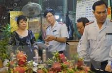 Hàng hóa về chợ đầu mối tại Thành phố Hồ Chí Minh dồi dào cho dịp Tết