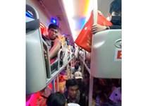 Đồng Nai: Phát hiện xe khách 40 chỗ chở tới 82 người