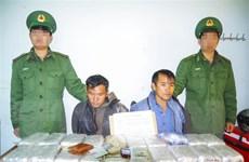 Điện Biên bắt 2 đối tượng vận chuyển 120.000 viên ma túy tổng hợp
