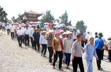 Quảng Bình: Tạm dừng đón khách tại Khu mộ Đại tướng Võ Nguyên Giáp