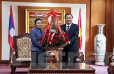Đảng NDCM Lào tự hào trước thành tựu của Đảng Cộng sản Việt Nam