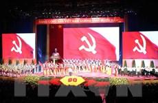 Điện mừng nhân kỷ niệm 90 năm Ngày thành lập Đảng Cộng sản Việt Nam