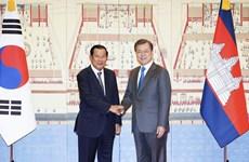 Thúc đẩy hợp tác song phương và hợp tác Hàn-ASEAN, Hàn-Mekong