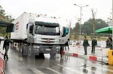 Lạng Sơn chính thức thông quan hàng hóa tại Cửa khẩu Quốc tế Hữu Nghị