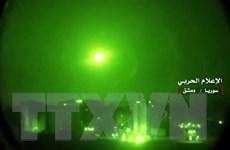 Syria đánh chặn tên lửa của Israel tại thủ đô Damascus