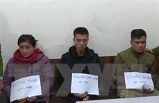 Sơn La: Bắt giữ ba đối tượng mua bán trái phép 2kg ma túy đá
