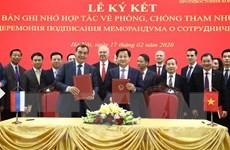 Nâng cấp hợp tác phòng chống tham nhũng giữa Việt Nam-Liên bang Nga