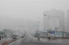 Chất lượng không khí tại Hà Nội và khu vực Bắc Bộ ở mức nguy hại