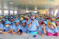 Các yêu cầu của công nhân Công ty JY Hà Nam đã được đáp ứng