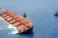 Brazil lập nhóm xử lý khủng hoảng nguy cơ chìm tàu chở quặng sắt