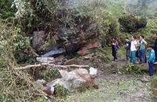 Lào Cai: Sập vỉa đá trong hang ở huyện Bắc Hà, hai bố con tử nạn