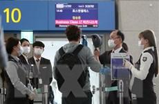 Hàn Quốc siết chặt kiểm tra thân nhiệt khách xuất cảnh ở sân bay