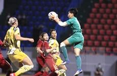 Đội tuyển nữ Việt Nam chiến đấu kiên cường trước đội nữ Australia