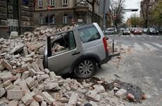 Động đất mạnh 5,3 độ ở Croatia làm sập một tòa nhà giữa thủ đô