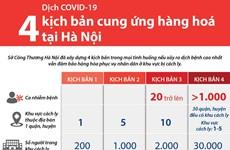 Bốn kịch bản cung ứng hàng hoá tại Hà Nội ứng phó dịch COVID-19