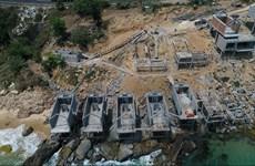 Ba dự án du lịch ven biển Quy Nhơn bị dừng và chưa được phép thi công