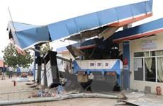 Lai Châu: Xe cẩu đâm 2 xe máy trên Quốc lộ 4D, 5 người thương vong