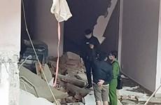 Lâm Đồng: Khối bêtông đổ sập đè lên máy múc, tài xế tử vong tại chỗ