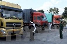 Ách tắc cục bộ hàng hóa nhập khẩu tại cửa khẩu Lào Cai