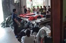 Truy tố chủ cơ sở ''đầu mối'' sản xuất quần áo giả hàng hiệu