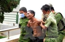 Bắt giữ đối tượng mang xăng phóng hỏa Bệnh viện đa khoa Quảng Ngãi