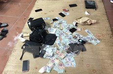 Công an Thanh Hóa triệt phá ổ đánh bạc liên tỉnh quy mô lớn