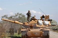 Thổ Nhĩ Kỳ điều 20 xe quân sự đến vùng Đông Bắc Syria