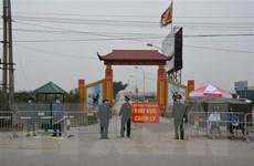 Cấm đường, phân luồng trên đường 23 phục vụ cách ly thôn Hạ Lôi