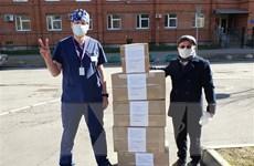 Cộng đồng người Việt ở Nga chung sức đồng lòng chống dịch COVID-19