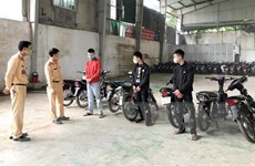Phú Thọ: Bắt giữ, xử lý nhiều đối tượng đua xe trái phép