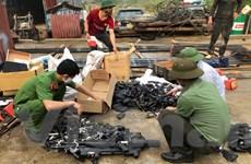 Sơn La: Tiêu hủy hàng nghìn vũ khí, vật liệu nổ và công cụ hỗ trợ