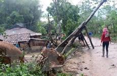Lai Châu: Mưa đá kèm gió lốc làm hai người chết, một mất tích