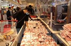 Nhập khẩu thịt lợn tăng hơn 300% so với cùng kỳ năm 2019