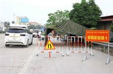 Hưng Yên: Gỡ bỏ lệnh phong tỏa thôn Chí Trung do dịch COVID-19