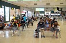 Gia tăng lượng khách qua Cảng hàng không quốc tế Nội Bài