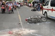 Tai nạn liên hoàn trên Quốc lộ 91: Một người chết, 4 người bị thương