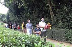 Nghệ An: Đông đảo du khách về tham quan quê Bác dịp nghỉ lễ