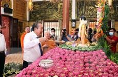 Thư chúc mừng Đại lễ Phật đản năm 2020 - Phật lịch 2564