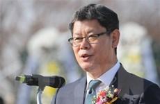 Bộ trưởng Thống nhất Hàn Quốc tới thăm làng đình chiến Panmunjom