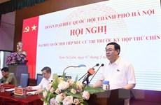 Cử tri Hà Nội đánh giá cao kết quả công tác phòng chống dịch