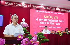 Đề án xây dựng Thừa Thiên-Huế thành thành phố trực thuộc TW