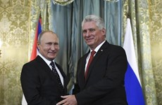 Lãnh đạo Cuba chúc mừng Nga nhân dịp 75 năm chiến thắng phátxít