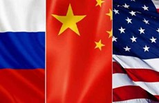 Đại dịch COVID-19 làm thay đổi quan hệ Trung-Mỹ-Nga
