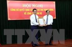 Ông Triệu Thế Hùng giữ chức Phó Bí thư Tỉnh ủy Hải Dương