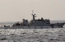 Nhật Bản phản đối tàu của Trung Quốc xâm phạm lãnh hải