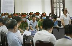 Vụ gian lận điểm thi tại Hòa Bình: Tiến hành phần thẩm vấn các bị cáo