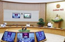 Nghị quyết phiên họp Chính phủ thường kỳ tháng 4 năm 2020