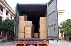 Bắt giữ xe container chở 840.000 khẩu trang không rõ nguồn gốc